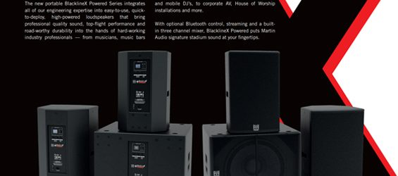 Speaker Sound System Martin Audio BlacklineX Powered