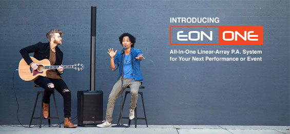 Paket Sound System Portabel JBL EON ONE