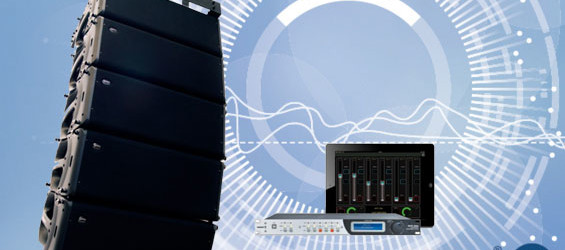 Sound System Line Array Aktif WorkPro SL210A