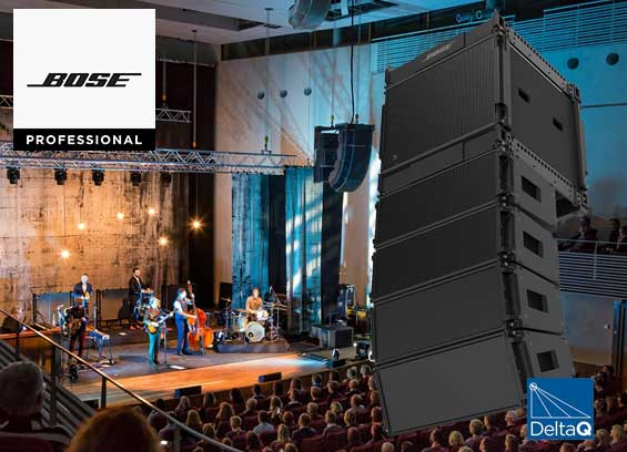 Sound System Line Array Bose ShowMatch DeltaQ
