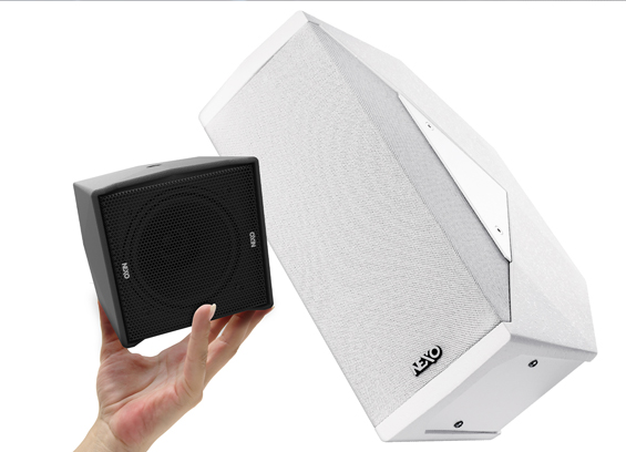Speaker Point Source NEXO ID14 dan Subwoofer NEXO S108
