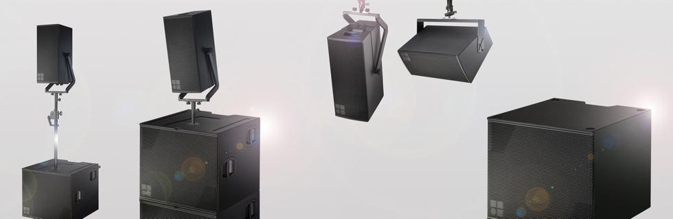 Speaker Point Source d&b Audiotechnik V7P dan V10P