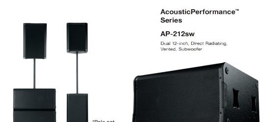 Speaker Sound System QSC AcousticPerformance AP-4122m dan AP-212sw