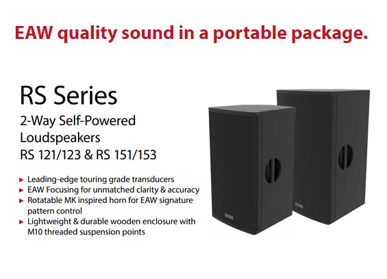 Speaker Sound System EAW RS Series