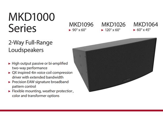 Speaker Sound System EAW Seri MKD
