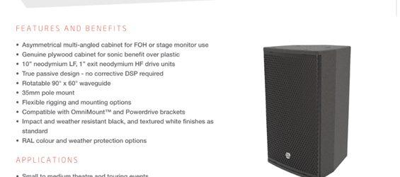 Speaker Sound System EM Acoustics EMS-101X