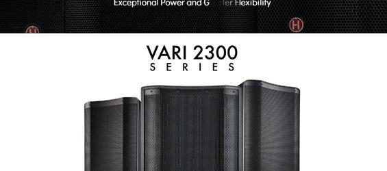 Speaker Sound System Harbinger VARI 2300