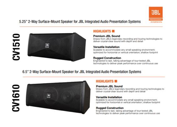 Speaker Sound System JBL CV1510 dan CV1610