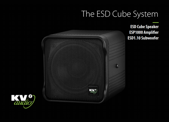 Speaker Sound System KV2 Audio ESD Cube