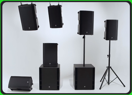Speaker Sound System Mackie Thump Boosted