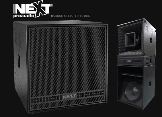Speaker Sound System NEXT ProAudio PXH95