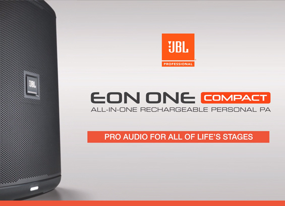 Speaker Sound System Portabel JBL EON ONE Compact