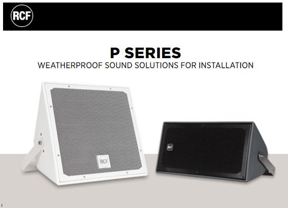Speaker Sound System RCF P3115T Dan P1108T