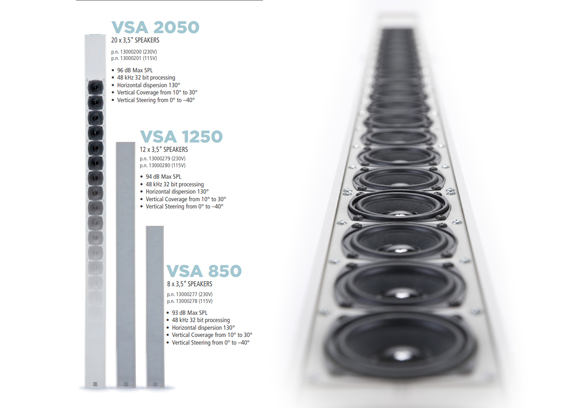 Speaker Sound System RCF VSA II