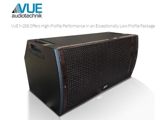 Speaker Sound System VUE Audiotechnik H-208
