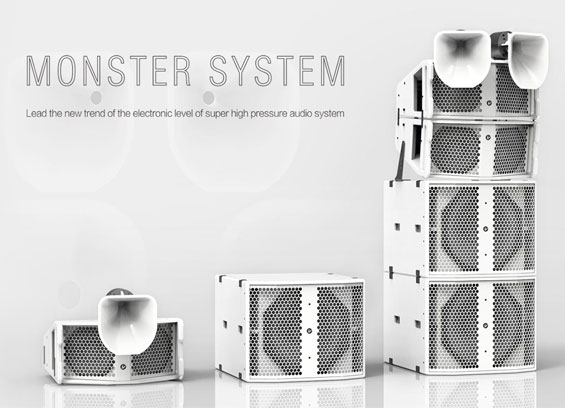 Speaker Sound System Verity Audio Monster Tower