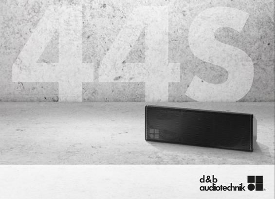 Speaker Sound System d&b audiotechnik 44S
