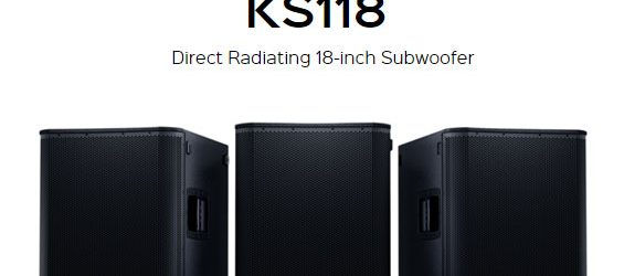 Speaker Subwoofer Aktif QSC Audio KS118