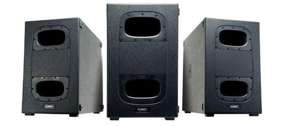 Speaker Subwoofer Aktif QSC K Kardioid