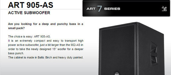 Speaker Subwoofer Aktif RCF SUB 905-AS MK2