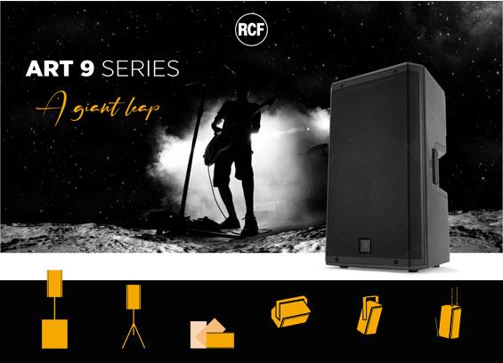 Speaker aktif RCF ART 9 series