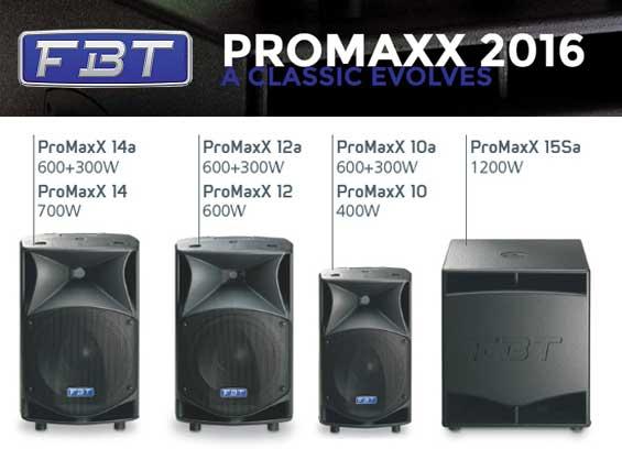 Speaker Aktif FBT PROMAXX