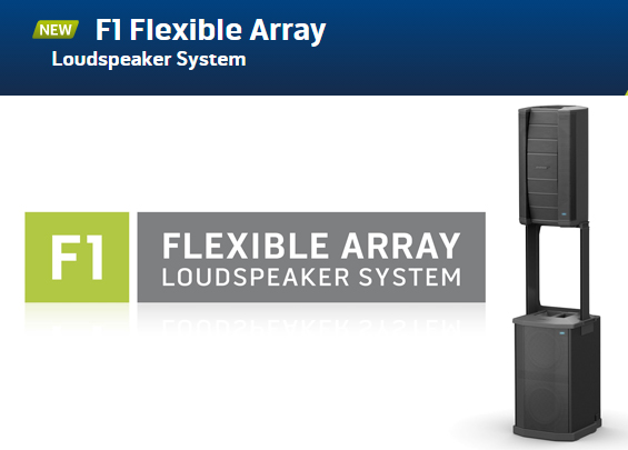 Sound System Line Array Bose F1