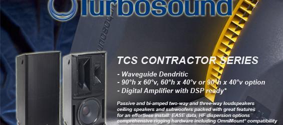 Speaker Aktif Turbosound Seri TCS