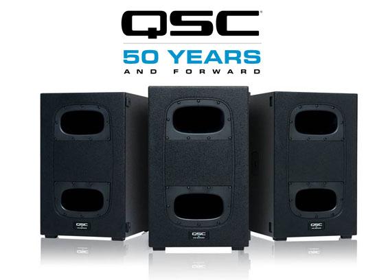 SpeakerSubwoofer Aktif Kardioid QSC Audio KS112