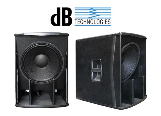 Subwoofer Aktif dB Technologies Seri SUB-H