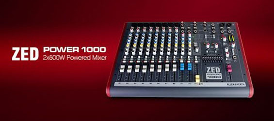 Power Mixer Allen Heath ZED Power 1000