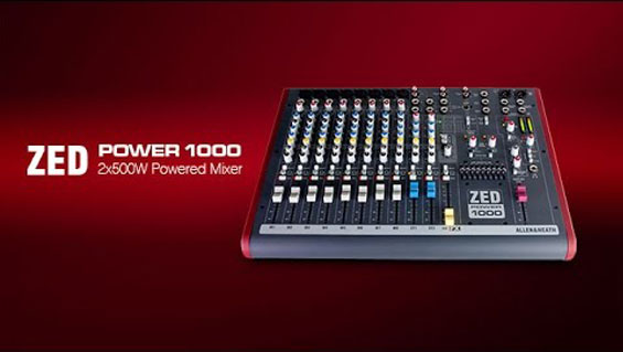 Power Mixer Allen Heath ZED Power 1000