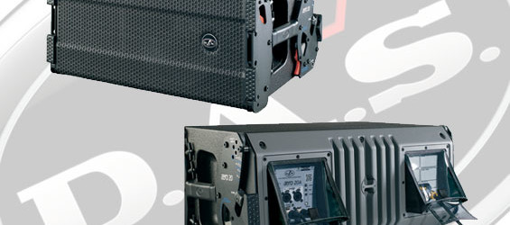 Speaker Line Array Aktif DAS Audio Aero 20A