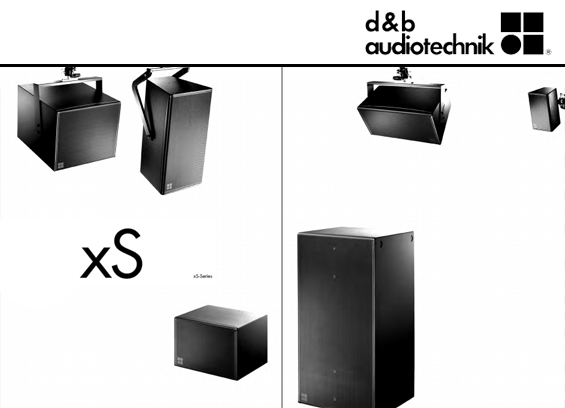 Speaker Sound System d&b Audiotechnik 24S dan 24S-D