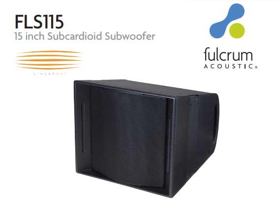 Subwoofer Pasif Kardioid Fulcrum FLS115