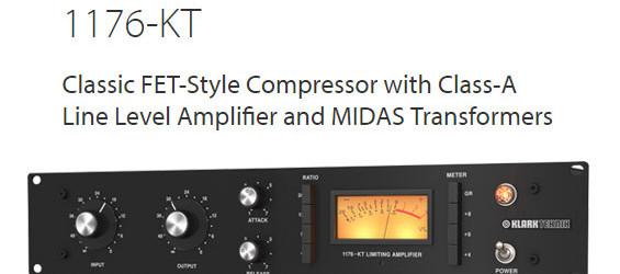 Kompresor Audio Klark Teknik 1176-KT FET