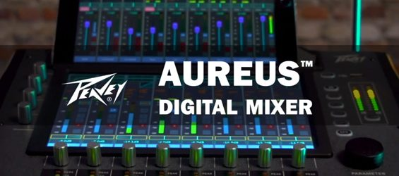 Mixer Sound System Digital Peavey Aureus