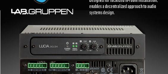 Audio Power Amplifier Lab Gruppen LUCIA