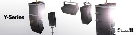 Sound System Line Array d&b Audiotechnik Seri Y