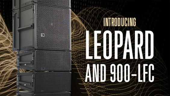Sound System Line Array Meyer LEOPARD