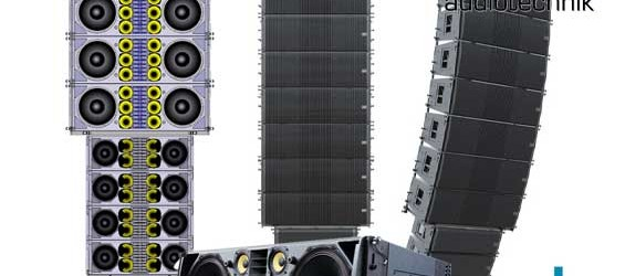 Sound System Line Array VUE Audiotechnik al 12