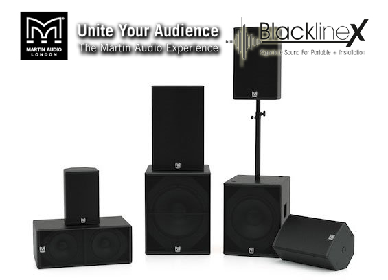 Speaker Sound System Martin Audio BlacklineX