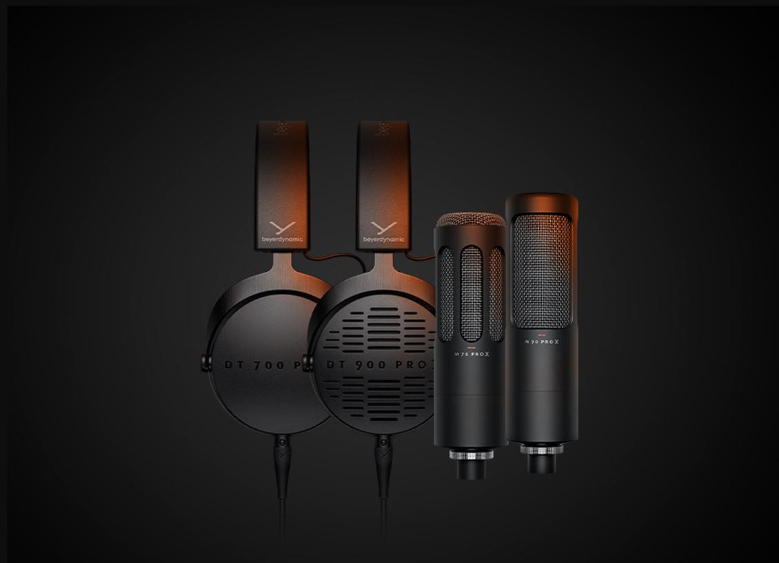 mic dan headphone beyerdynamic PRO X Series
