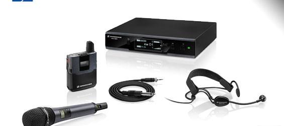 Sistem Mikrofon Wireless Digital Sennheiser Evolution D1