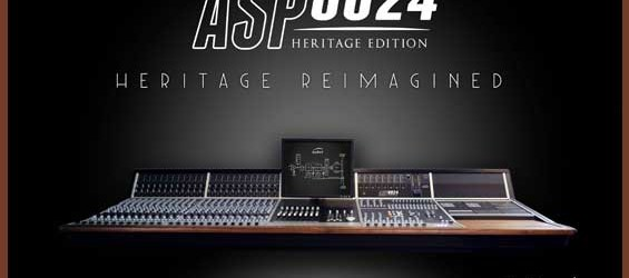 Mixer Digital Audient Heritage ASP8024-HE