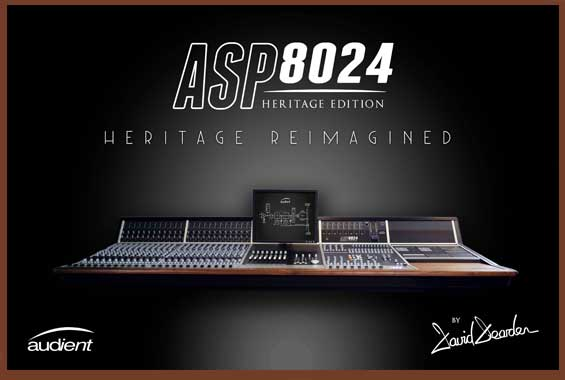 Mixer Digital Audient Heritage ASP8024-HE