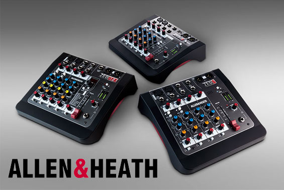 Mixer Audio Analog Allen Heath ZEDi