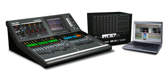 Mixer Audio Digital Allen & Heath Seri iLive-T