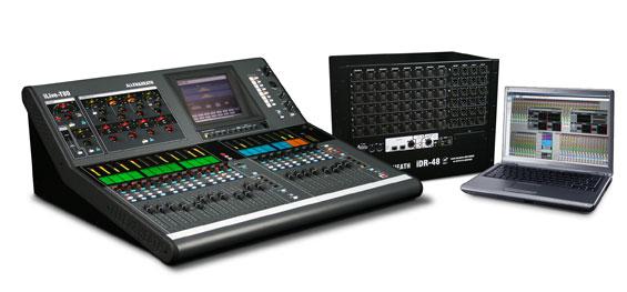 Mixer Audio Digital Allen & Heath Seri iLive-T