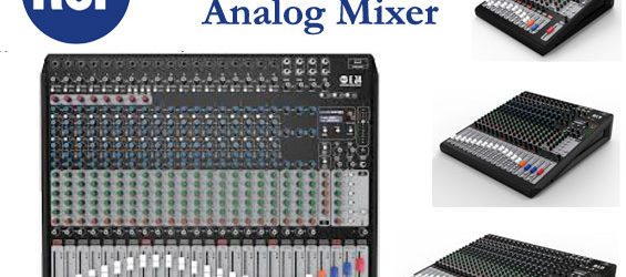 Mixer Audio Analog RCF Seri E